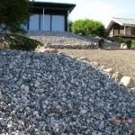 Forskellige sten og trappe